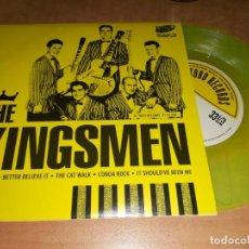 Discos de vinilo: THE KINGSMEN EP ED. LIMITADA A COLOR,EL TORO SPAIN PRESS 2013 -RITCHIE VALENS(COMPRA MINIMA 15 EUR). Lote 293321628
