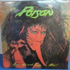Discos de vinilo: POISON OPEN UP AND SAY... OOH! LP. Lote 293331238