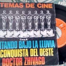 Discos de vinilo: SINGLE 8VINILO) 6 TEMAS DE CINE AÑOS 80. Lote 293331308