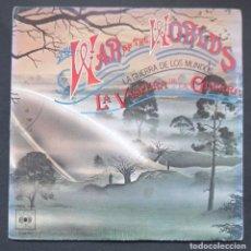 Discos de vinilo: B.S.O - LA GUERRA DE LOS MUNDOS - SINGLE 1978 - CBS. Lote 293331478
