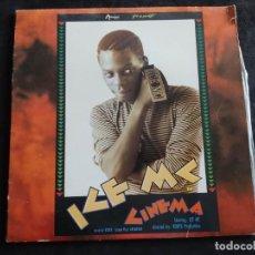 Discos de vinilo: LP HISTORICO DEL RAP ICE MC CINEMA N. 142. Lote 293331653