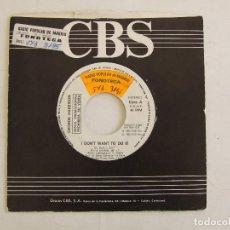 Dischi in vinile: BEATLES GEORGE HARRISON SINGLE PROMOCIONAL I DON'T WANT TO DO IT ESPAÑA PROMO PORKY CONTRAATACA. Lote 293335593
