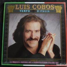 Discos de vinilo: LUIS COBOS TEMPO D ITALIA ITALIA LP 1987 N. 146. Lote 293335608