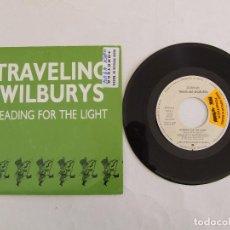 Dischi in vinile: BEATLES GEORGE HARRISON TRAVELING WILBURYS SINGLE PROMOCIONAL HEADING FOR THE LIGHT ESPAÑA. Lote 293336108