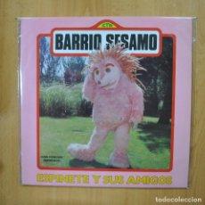Dischi in vinile: BARRIO SESAMO - ESPINETE Y SUS AMIGOS - + POSTER LP. Lote 293337588