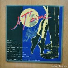 Discos de vinilo: VARIOS - JE T AIME - LP. Lote 293338908