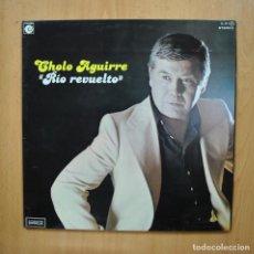 Discos de vinilo: CHOLO AGUIRRE - RIO REVUELTO - PROMO GATEFOLD LP. Lote 293338933