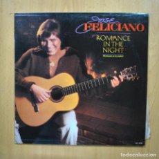 Discos de vinilo: JOSE FELICIANO - ROMANCE IN THE NIGHT - LP. Lote 293338963