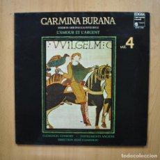 Discos de vinilo: VARIOS - CARMINA BURANO VOL 4 - LP. Lote 293339078
