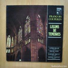 Discos de vinilo: FRANCOIS COUPERIN - LECONS DE TENEBRES - LP. Lote 293339083