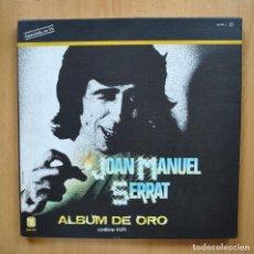 Discos de vinilo: JOAN MANUEL SERRAT - ALBUM DE ORO - BOX 4 LP. Lote 293339163