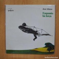 Discos de vinilo: JOSE AFONSO - ENQUANTO HA FORCA - LP. Lote 293339223