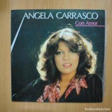 Discos de vinilo: ANGELA CARRASCO - CON AMOR - LP. Lote 293339803