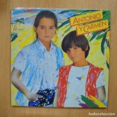 Discos de vinilo: ANTONIO Y CARMEN - ANTONIO Y CARMEN - GATEFOLD LP. Lote 293339838