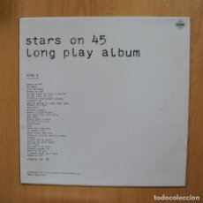 Discos de vinilo: STARS ON 45 LONG PLAY ALBUM - STARS ON 45 LONG PLAY ALBUM - LP. Lote 293339863