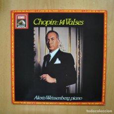 Discos de vinilo: ALEXIS WEISSENBERG - PIANO CHOPIN 14 VALSES - LP. Lote 293339938