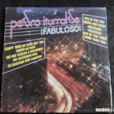 Discos de vinilo: PEDRO ITURRALDE LP HISPAVOX 1982 LP N. 155. Lote 293340103