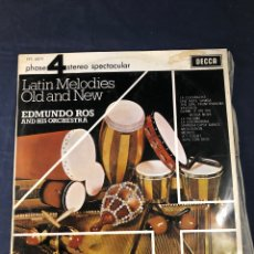 Discos de vinilo: LATIN MELODIES OLD AND NEW. Lote 293340643