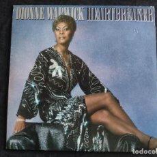 Discos de vinilo: DIONNE WARWICK - HEARTBREAKER - LP. SELLO ARISTA 1982 N. 158. Lote 293341173