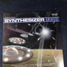 Discos de vinilo: SYNTHESIZER. Lote 293342348