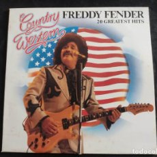 Discos de vinilo: FREDDY FENDER-20 GREATEST HITS LP N. 164. Lote 293343328