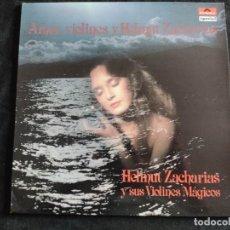 Discos de vinilo: LP - HELMUT ZACHARIAS Y SUS VIOLINES MAGICOS N. 166. Lote 293344703