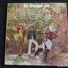Dischi in vinile: BREAD - LO MEJOR DE BREAD - LP N. 171. Lote 293346898