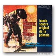 """Discos de vinilo: ENNIO MORRICONE - OST """"LA MUERTE TENIA UN PRECIO"""". Lote 293347363"""