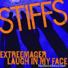 Discos de vinilo: THE STIFFS - EXTREEMAGER 7'' SKINHEAD OI PUNK MOD POWERPOP. Lote 293347843