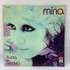 Discos de vinil: LP - VINILO MINA - FRUTTA E VERDURA - ESPAÑA - AÑO 1974. Lote 293348308