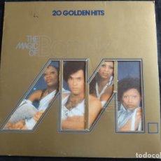Dischi in vinile: (LP) THE MAGIC OF BONEY M – 20 GOLDEN HITS AÑO – 1980 N. 177. Lote 293349128