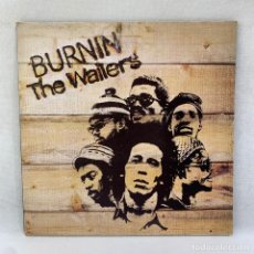 Dischi in vinile: LP - VINILO THE WAILERS - BURNIN - DOBLE PORTADA - ENCARTE - ESPAÑA - AÑO 1978. Lote 293353718