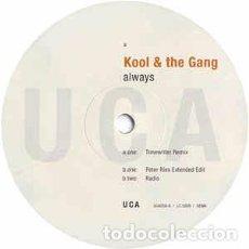 "Discos de vinilo: KOOL & THE GANG - ALWAYS (12"") LABEL:UCA RECORDS CAT#: UCA058-6. Lote 293357598"