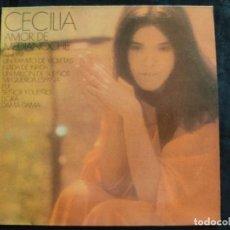 Discos de vinilo: LP CECILIA AMOR DE MEDIA NOCHE 1975 N.201. Lote 293360688