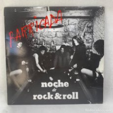 Discos de vinilo: LP - VINILO BARRICADA - NOCHE DE ROCK & ROLL + ENCARTE - ESPAÑA - AÑO 1983. Lote 293361043