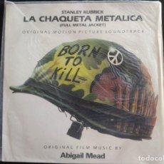 Discos de vinilo: LA CHAQUETA METALICA DE STANLEY KUBRICK BSO N.204. Lote 293361463
