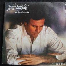 Discos de vinilo: JULIO IGLESIAS-UN HOMBRE SOLO- AÑO 1987 N.207. Lote 293362553