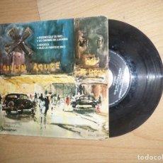 Discos de vinilo: ORQUESTA HOLLYWOOD STRINGS - MADEMOISELLE DE PARIS - DISPONGO DE MAS VINILOS. Lote 293408743