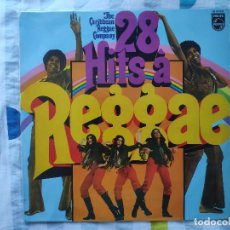 Discos de vinilo: CARIBBEAN REGGAE COMPANY - LP SPAIN * MINT * 28 HITS A REGGAE * PHILIPS * AÑO 1970. Lote 293414738