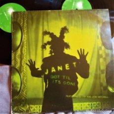 """Discos de vinilo: JANET JACKSON - GOT TIL IT´S GONE, 2X12"""", UK 1997, VIRGINVSTX1666 (VG+_VG+). Lote 293414823"""