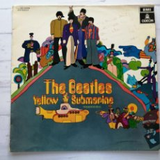 Discos de vinil: CARPETA PORTADA THE BEATLES YELLOW SUBMARINE LP - SOLO CARPETA!!!. Lote 293423233