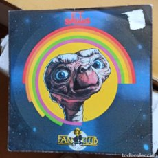 Discos de vinilo: E.T. SPEAKS - CONVERSATIONS FROM THE MOVIE WITH E.T. AND HIS FRIENDS (ET OFFICIAL FANCLUB, UK, 1982). Lote 293436208