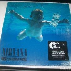 Discos de vinilo: NIRVANA - NEVERMIND ..LP NUEVA REEDICION - BACK TO BACK - GEFFEN CON INSERT. Lote 293440853
