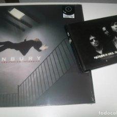 Discos de vinilo: ENRIQUE BUNBURY - CURSO DE LEVITACIÓN INTENSIVO --LP + CD - NUEVO PRECINTADO + CD - LIBRO CON VIDEOS. Lote 293443673