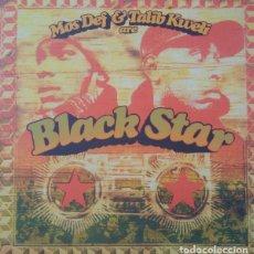 Discos de vinilo: LP MOS DEF & TALIB KWELI - ARE BLACK STAR - RAWKUS RWK 1158-1 - REEDICION - NUEVO !!!!*. Lote 293444118