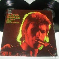 Discos de vinilo: DAVID BOWIE - EL REY DEL GAY POWER .. ORIGINAL DE 1973 ..2 LP´S - DERAM . 1ª EDICION - ESPAÑOLA. Lote 293446253