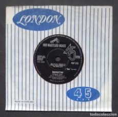 Discos de vinilo: ELLA FITZGERALD - MANHATTAN / EVERY TIME WE SAY GOODBYE - SINGLE UK - HMV. Lote 293450178