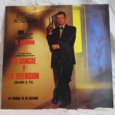 Discos de vinilo: UN PINGÜINO EN MI ASCENSOR,LA SANGRE Y LA TELEVISIÓN,BLOOD&TV,DISCOS DRO,1990. Lote 293450468
