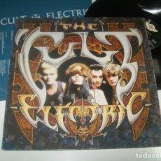 Discos de vinilo: THE CULT - ELECTRIC ..LP DEL AÑO 1987 - EDICION ALEMANA - VIRGIN - CON LETRAS - MUY BUEN ESTADO. Lote 293453078
