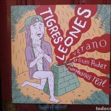 Discos de vinilo: PETRÓLEO / TIGRES LEONES. LP VINILO NUEVO PRECINTADO. Lote 293475698